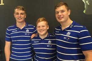 former stewartry rfc pair alex craig and stafford mcdowall help scotland u20s defeat australia