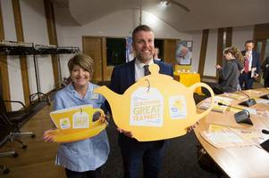 Galloway and West Dumfries MSP Finlay Carson holding tea party for Marie Curie