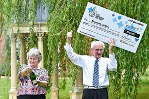 gran who has never been abroad strikes it lucky with £300k lotto win ... and plans holiday to scotland