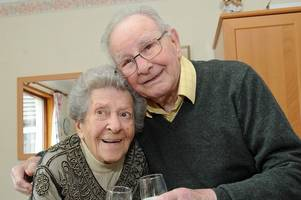 Stewartry couple celebrate platinum wedding anniversary after 70 years of happiness