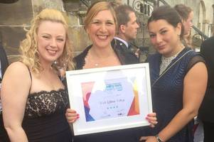 West Lothian students get prestigious award from health campaign