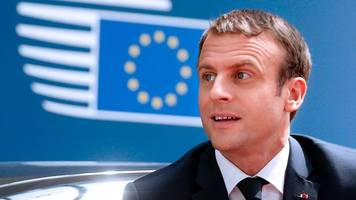 emmanuel macron's charm offensive in brussels debut