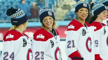 les canadiennes: women's ice hockey team left in the cold