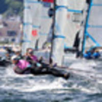 sailing: alex maloney and molly meech table toppers at kiel week