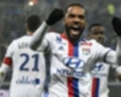 'arsenal ready to pay for lacazette' - lyon confirm interest but may frustrate wenger