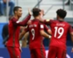 Ronaldo preserves goal-a-game record with Portugal penalty against New Zealand