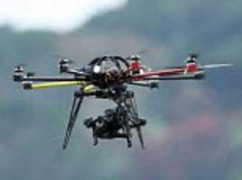 Crackdown after drone came within a METRE of hitting jet