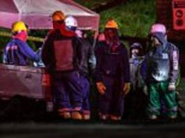 eight killed in huge explosion at illegal mine in colombia