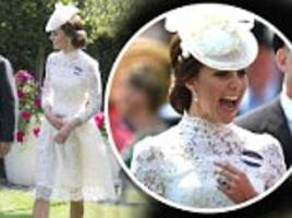 liz jones: kate's racy lacy dress? it gets a fashion tick
