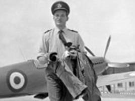 RAF squadron leader's wartime diary to go on sale