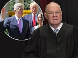 rumors say supreme court justice kennedy will retire