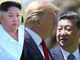china and us want to denuclearize north korea