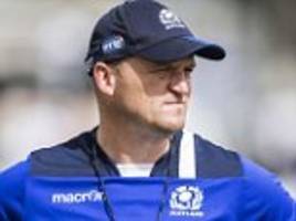 Fiji defeat leaves Scotland coach Gregor Townsend deflated