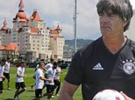 Germany train before Confederations Cup game vs Cameroon