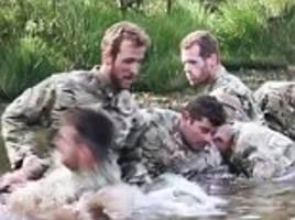royal marines share footage of england training drills