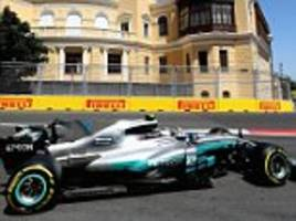 Valtteri Bottas tops Azerbaijan Grand Prix final practice