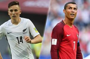 live on fs1: ronaldo leads portugal vs. new zealand in confederations cup