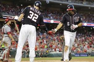 Bryce Harper's 10th-inning single lifts Washington Nationals past Cincinnati Reds 6-5