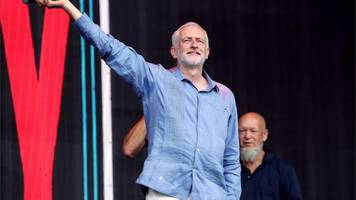 Glastonbury: Jeremy Corbyn 'inspired' by young voters