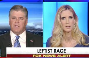 'cut the bs': hannity responds on twitter after ann coulter says his show 'censored' her