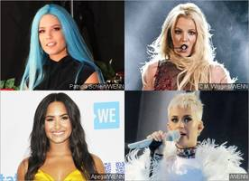 going too far? halsey shades britney spears, demi lovato and katy perry