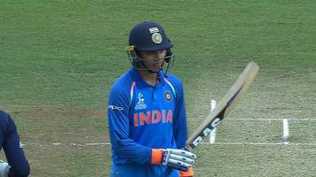 india's mandhana brings up her 50 against england