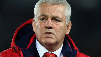 New Zealand 30-15 Lions: Tourists need to be more physical - Warren Gatland