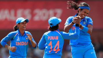 Women's World Cup 2017: India shock England in opener after four run-outs