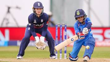 Women's World Cup: Three dropped catches but England finally catch Punam Raut