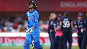 Women's World Cup: England claim Smriti Mandhana wicket