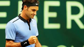 Roger Federer beats Karen Khachanov to reach Gerry Weber Open final in Halle