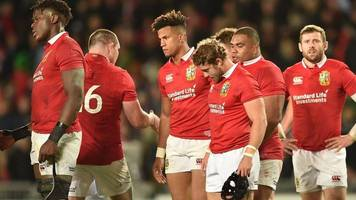 British and Irish Lions: Warren Gatland rues errors in loss to New Zealand