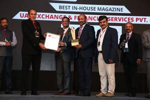 uae exchange india receives kma excellence awards 2017