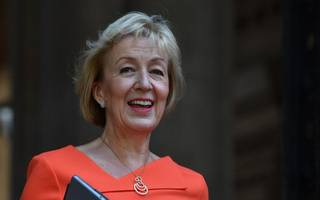 """andrea leadsom calls on broadcasters to be more """"patriotic"""" about brexit"""