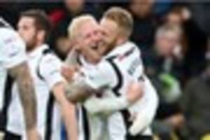 will hughes delivers farewell message after leaving derby county...