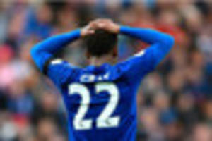 Leicester City's Demarai Gray admits his anger and frustration at...