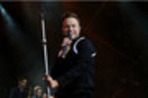 review: olly murs performing at sherwood pines
