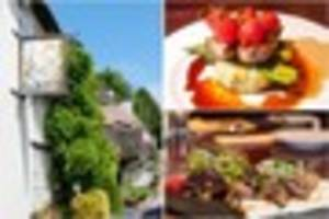 devonshire produce beautifully presented at the hoops inn and...