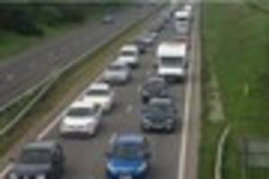 A30 delays at Temple again for drivers as Bodmin roadworks...