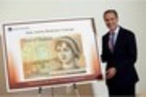 New plastic £10 note featuring Jane Austen to be unveiled...