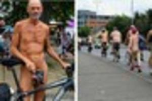 chelmsford naked bike ride: all the best pictures