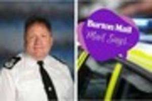 we wish chief constable gareth morgan the best of luck in his new...