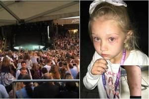 families' fury after children left traumatised by drunks at newmarket nights' little mix concert