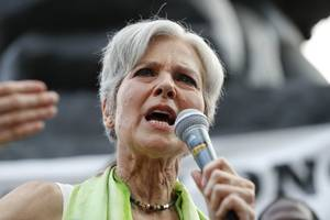 Jill Stein denies being a puppet of Russia, blames Democrats for scapegoating election loss
