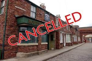 corrie and emmerdale to be cancelled on wednesday - leaving viewers furious