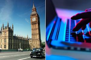 cyber hackers attack houses of parliament as security chiefs reveal 'unauthorised attempts' to access mps email accounts