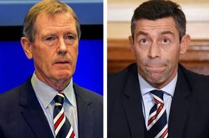 Rangers have backed Pedro Caixinha to the hilt but they need to do their talking on the park - Chris Sutton