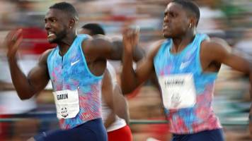justin gatlin: us sprinter could face a final duel with usain bolt