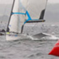 sailing: maloney and meech to fight for medal