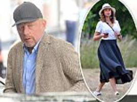 Is Boris Becker's marriage to model Lilly on the rocks?